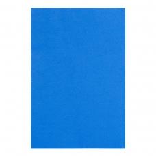 Фоамиран ЭВА синий, с клеевым слоем, 200*300 мм, толщина 1,7 мм, 10 листов