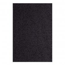 Фоамиран ЭВА черный махровый, 200*300 мм, толщина 2 мм, 10 листов