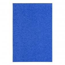 Фоамиран ЭВА синий махровый, 200*300 мм, толщина 2 мм, 10 листов