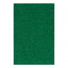 Фоамиран ЭВА зеленый махровый, 200*300 мм, толщина 2 мм, 10 листов