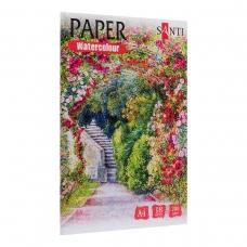 "Набор акварельной бумаги SANTI ""Nature"", А4, ""Paper Watercolor Collection"", 18 л., 200г/м2"