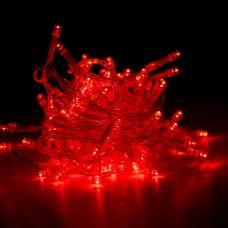 """Гирлянда светодиодная Yes! Fun """"Christmas time"""", 100 ламп, красная, 5 м., 8 реж.миг"""