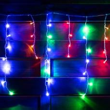 """Электрогирлянда-штора светодиодная Yes! Fun """"Christmas time"""",84 лампы, многоцветная,  2.1м"""
