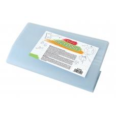 Обложка для тетрадей PVC (34,9см*21см), 80 мкм, с цветным клап