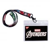 "Бейдж YES на ленте ""Marwel. Avengers"", принт"
