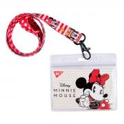 """Бейдж YES на ленте """"Minnie Mouse"""", принт"""