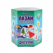"""Пазл круговой """"Геометрические фигуры"""""""