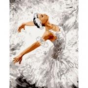 """Набор в коробке, картина по номерам """"Грация танца"""", 40*50 см., SANTI"""