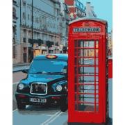 "Набор в коробке, картина по номерам ""Вечер в Лондоне"", 40*50 см., SANTI"