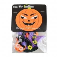 Набор декоративных наклеек Yes! Fun из фетра для Хэллоуина № 1, 12 шт.