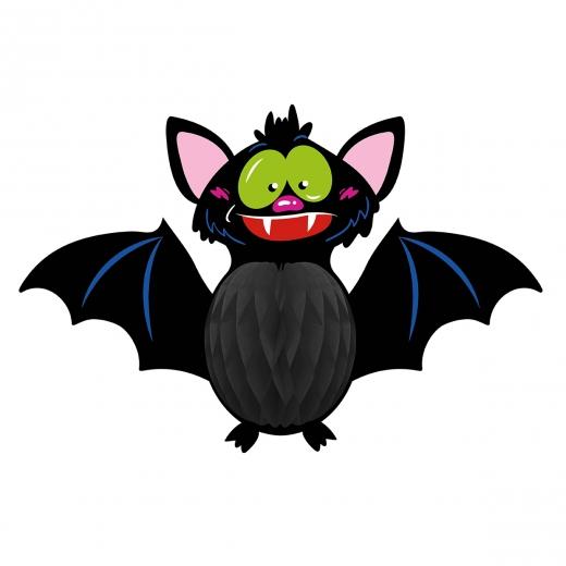 """Подвеска-соты бум. 3D Yes! Fun Хэллоуин """"Летучая мышь"""", 53 см"""