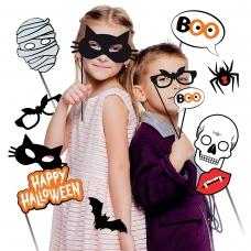 Набор аксессуаров YES! Fun Хэллоуин для фотосессии, 9 шт