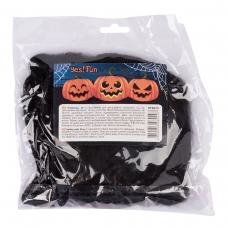 Паутина декор.Yes! Fun Хэллоуин 20 г, с двумя паучками, черная