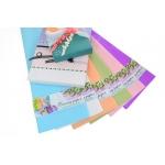 Пленка для упаковки и декорирования, салатовый, 60*60см, 10 листов.