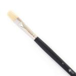 """Кисть худож. щетина """"Santi Highly Pro"""", длинная ручка, плоская, №7."""