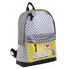Рюкзак подростковый YES ST-28 Love sheeps, 35*27*13