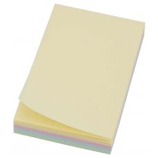 Бумага с липким слоем 75*50мм 4-цветн. 100л L1208
