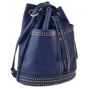 Сумка- рюкзак, темно синяя, 30*27*15.5