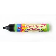 """ЗD-гель """"Liquid pop-up gel"""", зеленый"""