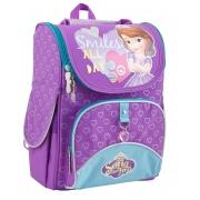 Рюкзак школьный каркасный 1 Вересня H-11 Sofia purple, 34*26*14