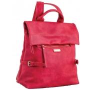 Сумка-рюкзак, красная, 29*33*15см