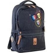 Рюкзак подростковый YES  OX 194, черный, 28.5*44.5*13.5