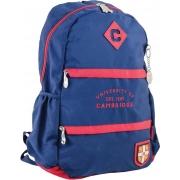 Рюкзак подростковый YES  CA 102, синий, 31*47*16.5
