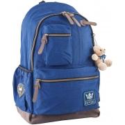 Рюкзак подростковый YES  OX 236, синий, 30*47*16