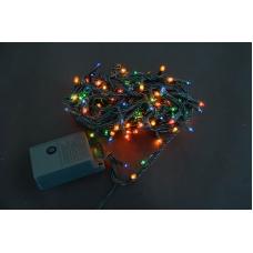 Электрогирлянда Yes! Fun, 160 микроламп ламп, многоцветная, 8 м., 8 реж.мигания, зел.прово