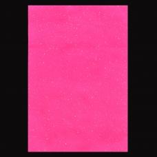 Набор Фетр Santi мягкий с глиттером, розовый, 21*30см (10л)