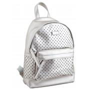 Сумка-рюкзак, серебро, 23.5*33*11см