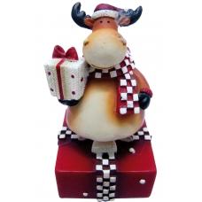 """Сувенир Yes! Fun """"Дед Мороз , Олень"""", 8см, в ящ. міх: 2 вида"""