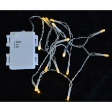 Электрогирлянда Yes! Fun уличная, 20 LED лампочек, многоцветная, 2,10 м., 1 реж.мигания, п