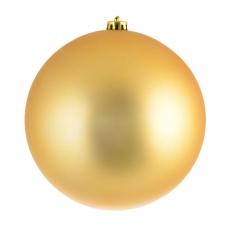 Шар d-20 см золотой матовый