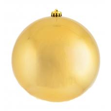 Шар d-20 см золотой глянец