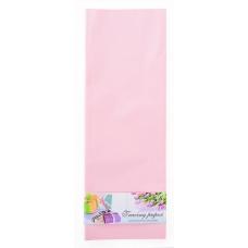 Пленка для упаковки и декорирования, светло-розовый, 60*60см, 10 листов.