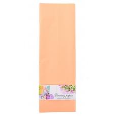 Пленка для упаковки и декорирования, абрикосовый, 60*60см, 10 листов.