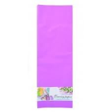 Пленка для упаковки и декорирования, сиреневый, 60*60см, 10 листов.