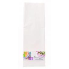 Пленка для упаковки и декорирования, белый, 60*60см, 10 листов.