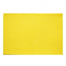Набор Фетр Santi мягкий с глиттером, желтый, 21*30см (10л)