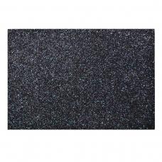 Набор Фетр Santi мягкий с глит., черный, 21*30см (10л)