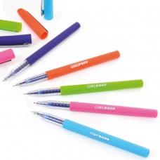 """Ручка шар/масл """"Popp"""" синяя 0,6 мм """"LINC"""""""
