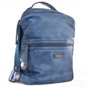 Рюкзак молодёжный YW-20, 26*35*13.5, синий