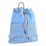 Рюкзак молодёжный YES YW-26, 29*35*12, голубой