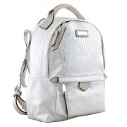 Рюкзак молодёжный YES YW-27, 22*32*12, серебряный