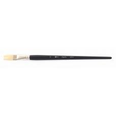 """Кисть худож. щетина """"Santi Highly Pro"""", длинная ручка, плоская, №11."""