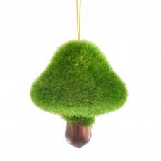 """Игрушка Yes! Fun новогодняя """"Лесной гриб"""" d-5.5 см, зеленый"""