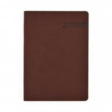 """Ежедневник А5 дат. """"Damaris"""", 322 стр., коричневый"""