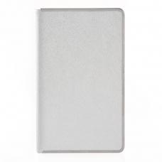 "Ежедневник 120*200 дат. ""Eclisse"", 384 стр., серебро"