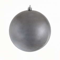 Шар Yes! Fun d-12 см серый графит, перламутр